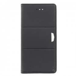 "Custodia a libro Premium Nera per Iphone 7 da 4,7"""