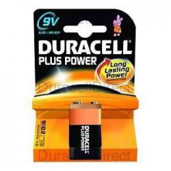 Duracell 9 Volt 6LR61 Blister 1Pz Scatola 10Pz