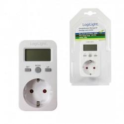 Presa schuko 16a con misuratore di costi energetici