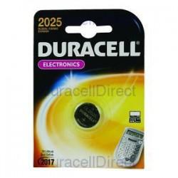 Duracell CR2025 - 3volt - Blister 1Pz. - Scatola 10 Blister