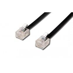 Cavo di connessione per linea telefonica (dritto) mt 6