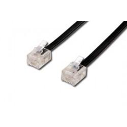 Cavo di connessione per linea telefonica (dritto) - mt. 15