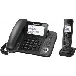 Panasonic Telefono Digitale Cordless/Con filo TGF310
