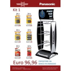 Panasonic Kit 1 Batterie