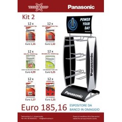 Panasonic Kit 2 Batterie