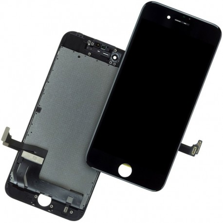 Display Lcd + Touch screen + Frame per Iphone 7 Nero