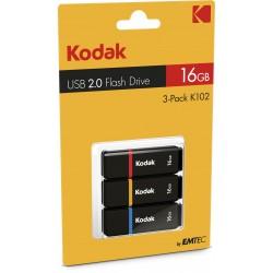 Kodak USB2.0 K100 16GB 3-Pack