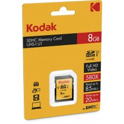 Kodak SDHC 8GB Class10 U1