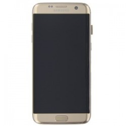 Display Lcd + Touch screen per Samsung S7 Edge G935F Gold