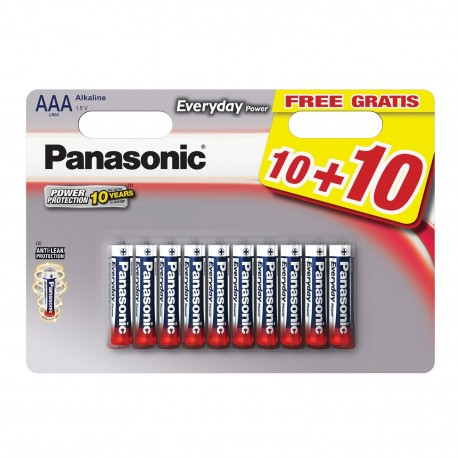 PANASONIC MINISTILO ALKALINE EVERYDAY BL.20