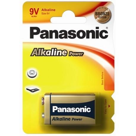 PANASONIC TRANSISTOR ALCALINA POWER - BLISTER DA 1 PZ. - CONFEZIONE 12 BLISTER