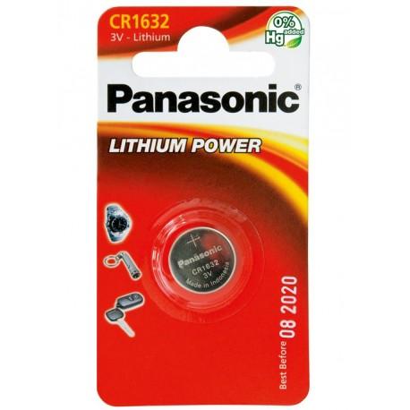 PANASONIC Pila al litio a bottone 3V 1632 Scatola 12 pezzi
