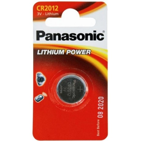 PANASONIC Pila al litio a bottone 3V 2012 Scatola 12 pezzi