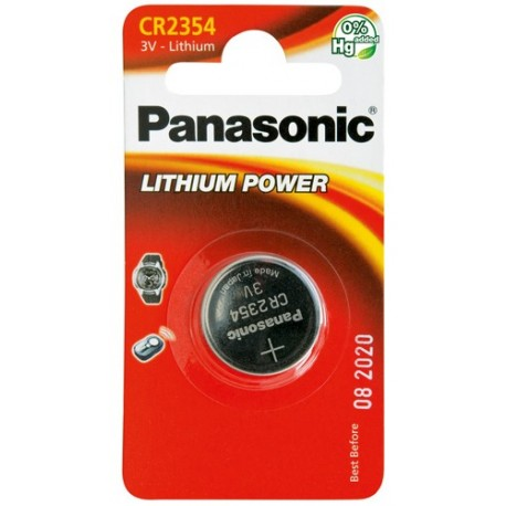 PANASONIC Pila al litio a bottone 3V 2354 Scatola 12 pezzi