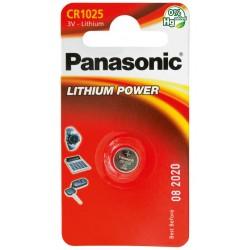 PANASONIC Pila al litio a bottone 3V 1025 Scatola 12 pezzi