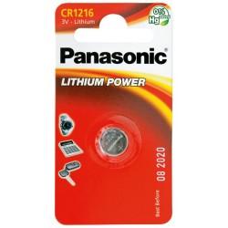 PANASONIC Pila al litio a bottone 3V 1216 Scatola 12 pezzi