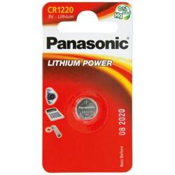 PANASONIC Pila al litio a bottone 3V 1220 Scatola 12 pezzi