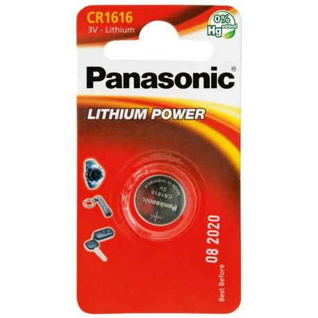 PANASONIC Pila al litio a bottone 3V 1616 Scatola 12 pezzi