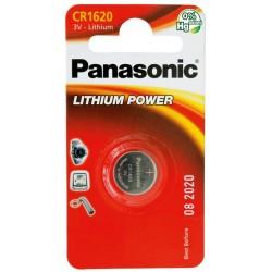 PANASONIC Pila al litio a bottone 3V 1620 Scatola 12 pezzi