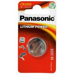 PANASONIC Pila al litio a bottone 3V 2450 Scatola 12 pezzi
