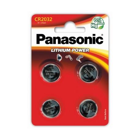 PANASONIC Pila al litio 2032 Scatola 12 pezzi Bl. 4