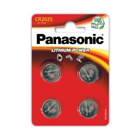 PANASONIC Pila al litio 2025 Scatola 12 pezzi Bl. 4