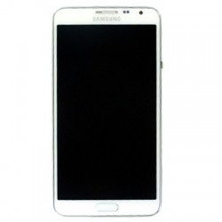 Display Lcd + Touch screen + Frame per Samsung Note 3 Neo Bianco