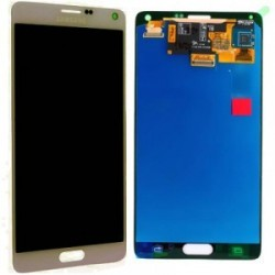 Display LCD + Touch per Samsung Note 4 Oro N910