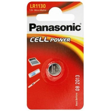 PANASONIC Pila a bottone 1,5 Volts 1130 Scatola 12 pezzi