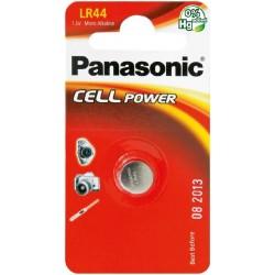 PANASONIC Pila a bottone 1,5 Volts LR44 Scatola 12 pezzi