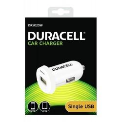 Duracell Caricatore da auto da 2.4A , 1X USB, Blister