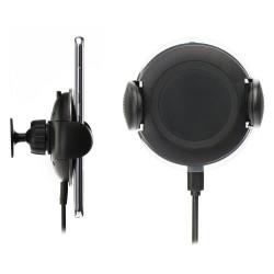 Supporto a ventosa / bocchette aria con ricarica wireless 2A