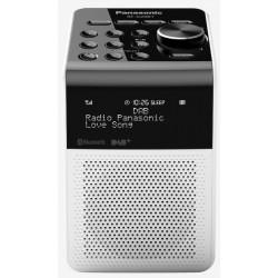 Panasonic Radio portatile con DAB e Bluetooth RF-D20BT Bianca
