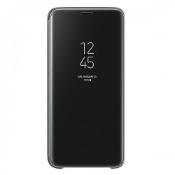 Samsung Galaxy S9 G960 Clear View Standing Cover Nera