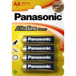 PANASONIC STILO ALCALINA POWER - BLISTER DA 4 PZ. - CONFEZIONE 12 BLISTER