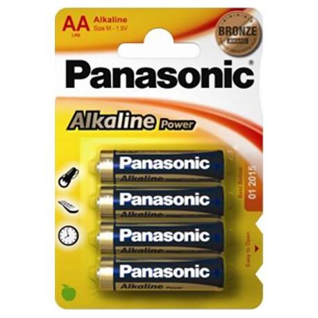 PANASONIC STILO ALCALINA POWER - BLISTER DA 4 PZ. - CONFEZIONE 12 BLISTER