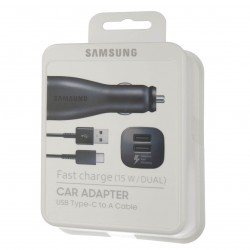 Samsung Fast Car Charger EP-LN920CB incl.Type-C