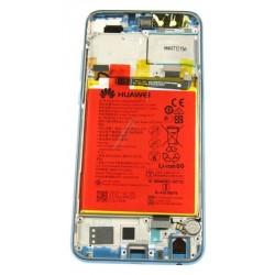 Display Lcd + Touch screen + Frame + Batteria per Honor 9 Lite Blu