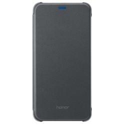 Huawei Honor 9 lite PU Flip Cover Nero