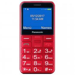 Panasonic Cellulare Facile da usare Rosso KX-TU150