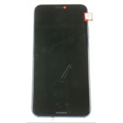 Huawei P20 Lite LCD + Touch + Batteria Blu Originale Service Pack