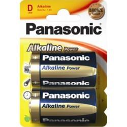 PANASONIC TORCIA ALCALINA POWER - BLISTER DA 2 PZ. - CONFEZIONE 12 BLISTER