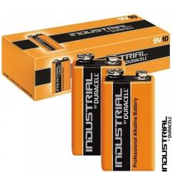 Duracell 9 Volt Industrial - 6LR61 - SC. 10 Pz