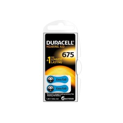 Duracell Acustica V 675 Blister 6 pz. - Scatola 10 Blister