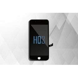 HO3 Display + Touch 3D in-Cell + Frame per Iphone 8 Plus Nero