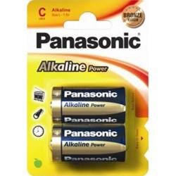 PANASONIC MEZZA TORCIA ALCALINA POWER - BLISTER DA 2 PZ. - CONFEZIONE 12 BLISTER