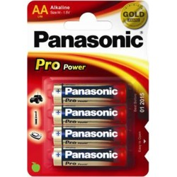 PANASONIC STILO PRO POWER - BLISTER DA 4 PZ. - CONFEZIONE 12 BLISTER