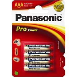 PANASONIC MINI STILO PRO POWER - BLISTER DA 4 PZ. - CONFEZIONE 12 BLISTER
